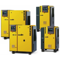 V-Belt Drive Screw Compressors