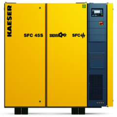 Variable Frequency Drive Screw Compressors